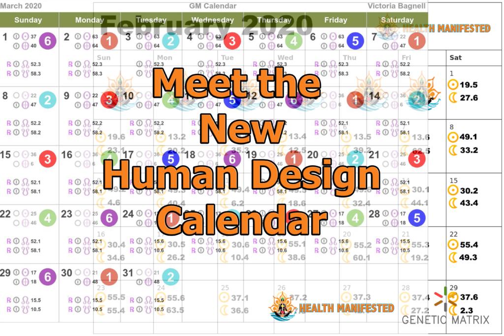 Automated Human Deign Calendar