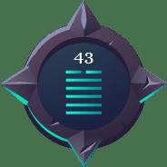 hex43